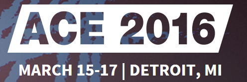 CycleOp will be presenting at ACE event in Detroit on March 2016